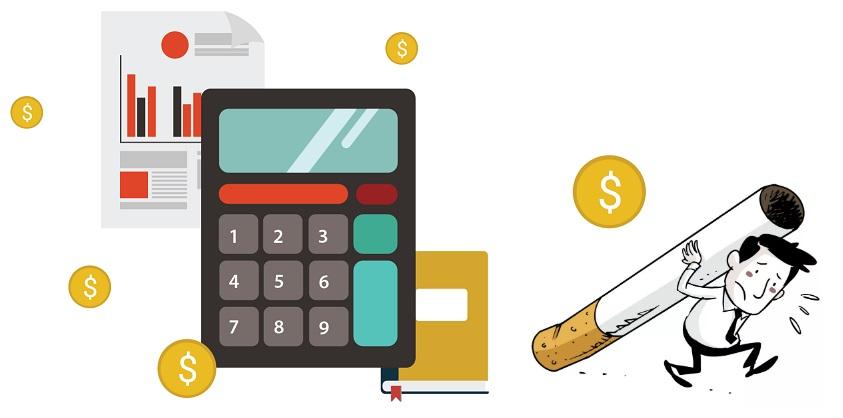 Онлайн калькулятор электронных сигарет электронная сигарета jool купить в москве